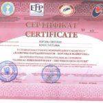 Сертификат Король фото 5