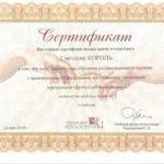 Сертификат Король фото 4