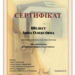 сертификат шелест фото 7
