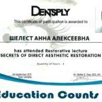 сертификат шелест фото 6