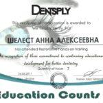 сертификат шелест фото 4